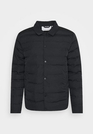 JOSH PADDED JACKET - Lehká bunda - anthracite black