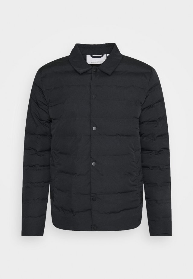 JOSH PADDED JACKET - Tunn jacka - anthracite black