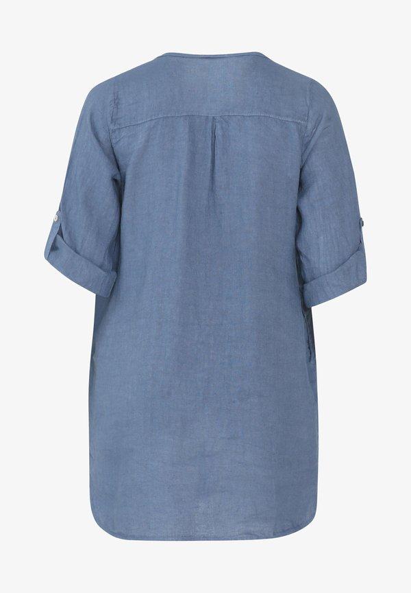 Paprika MIT STICKEREIEN UND PAILLETTEN - Koszula - indigo/niebieski JOYD