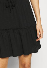 Pieces - PCNEORA SKIRT - A-line skirt - black - 4