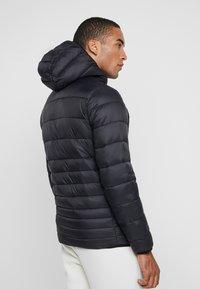 Jack & Jones - JJEBOMB PUFFER HOOD - Winter jacket - black - 2