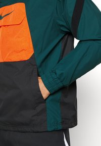 Nike Performance - FC ANORAK - Veste de survêtement - black/atomic teal - 5