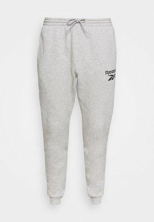 JOGGER - Pantaloni sportivi - medium grey heather