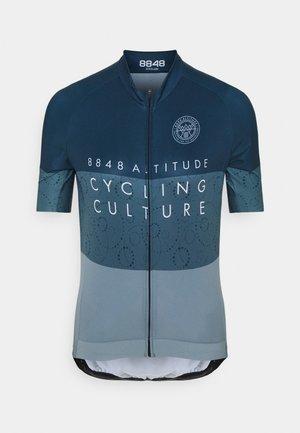 EVY BIKE  - T-Shirt print - indigo