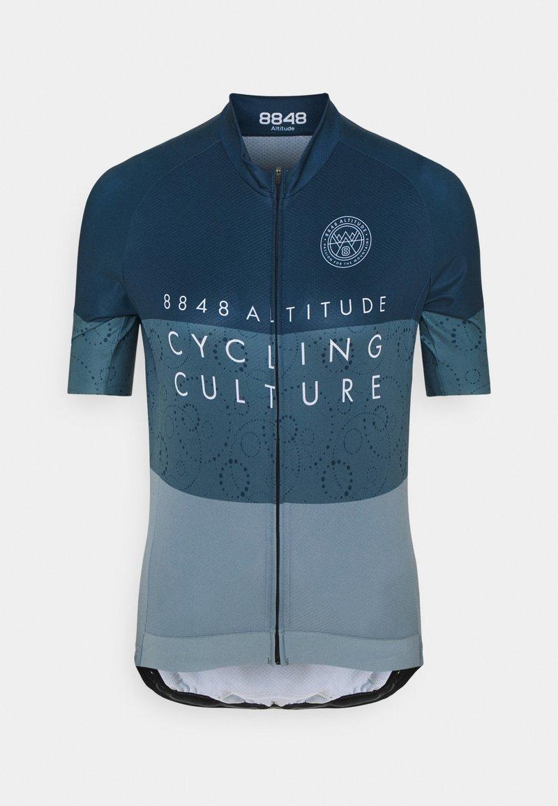 8848 Altitude - EVY BIKE  - T-Shirt print - indigo