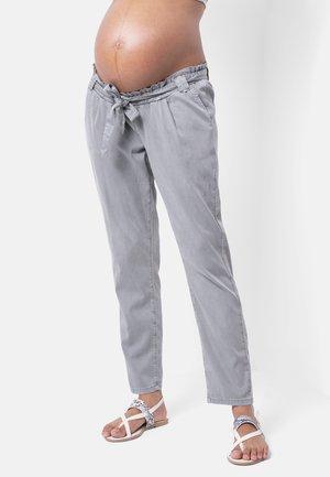 Trousers - aquagrey