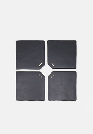 DINING COASTERS UNISEX 4 PACK - Other accessories - black