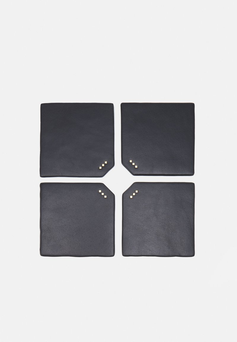 Royal RepubliQ - DINING COASTERS UNISEX 4 PACK - Other accessories - black