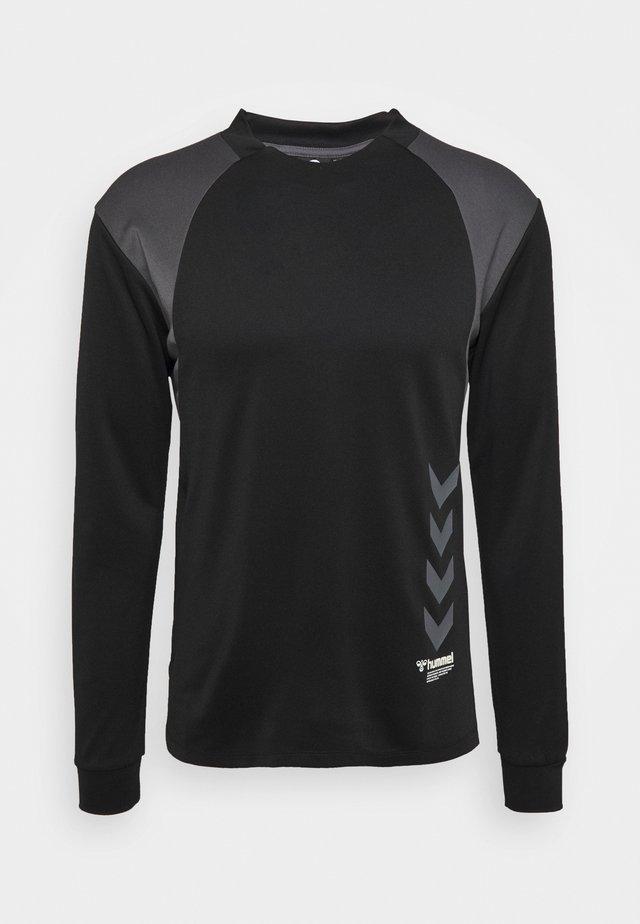 HMLKIRBY - T-Shirt print - black