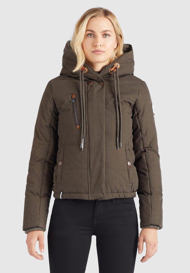 CAYANA - Winter jacket - beigebraun