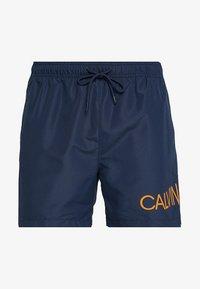 Calvin Klein Swimwear - MEDIUM DRAWSTRING SIDE - Plavky - blue - 2