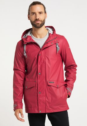 Waterproof jacket - rot