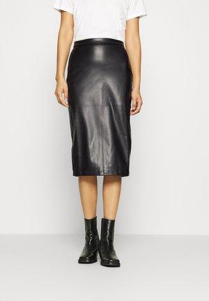 STYLLA - Pencil skirt - black