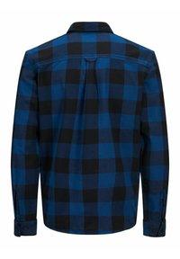 Jack & Jones PREMIUM - WOLLMISCHFASER - Shirt - estate blue - 1