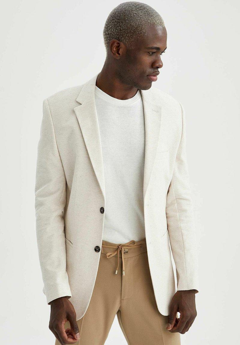 DeFacto - Blazer jacket - ecru