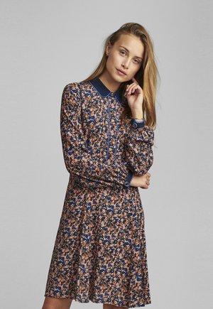 Košilové šaty - dazzling blue