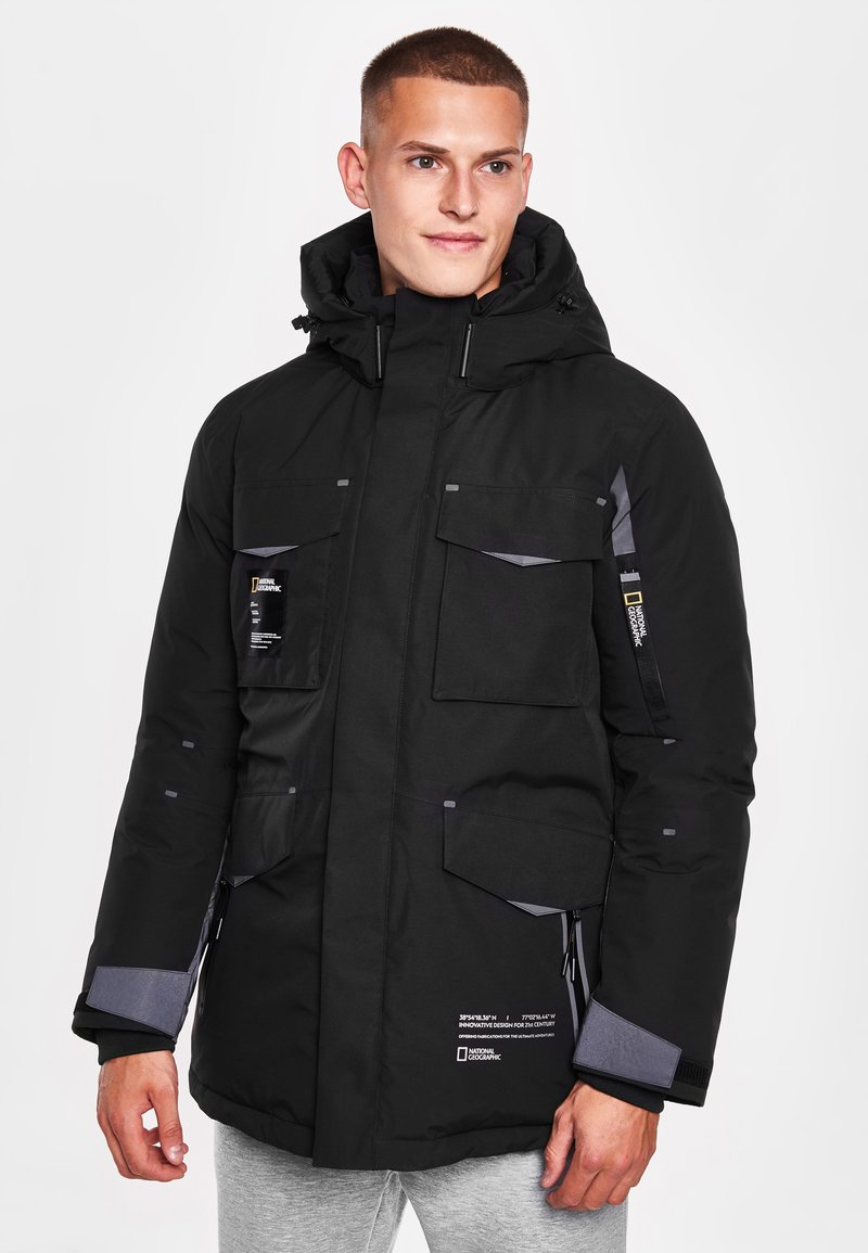 National Geographic - Down jacket - black