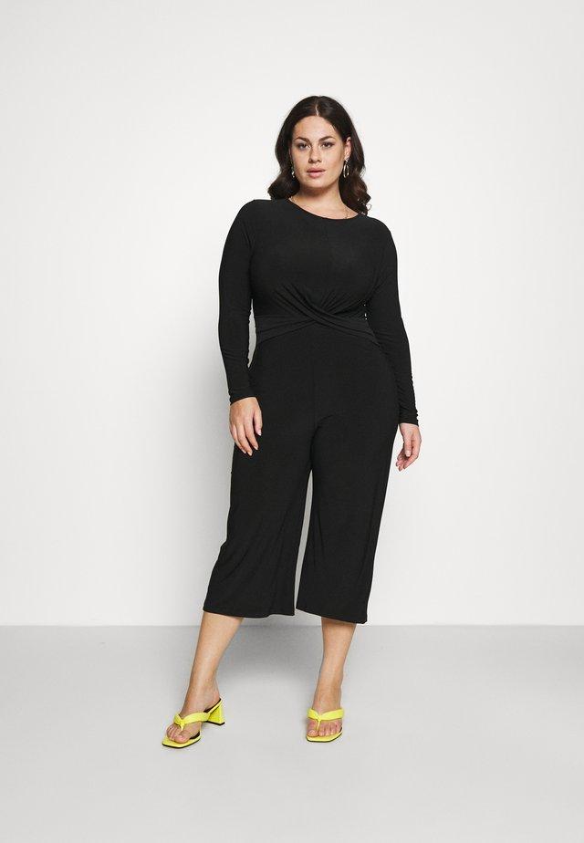 SKATER DRESS - Overal - black