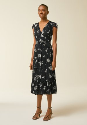 WRAP  - Day dress - aop/fine flower black