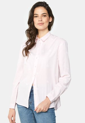 WE FASHION DAMENBLUSE MIT EINGEARBEITETEM MUSTER - Chemisier - light pink