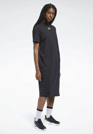 CLASSICS WARDROBE ESSENTIALS DRESS - Sukienka z dżerseju - black