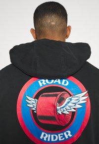 Santa Cruz - ROAD RIDER HOOD UNISEX - Hoodie - black - 5