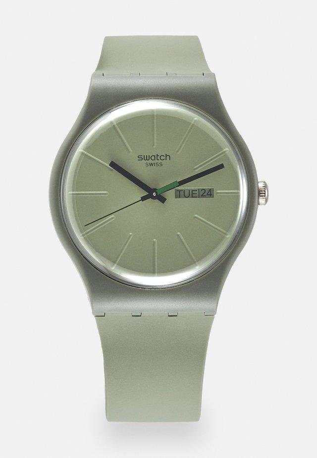 WE IN THE NOW UNISEX - Horloge - khaki