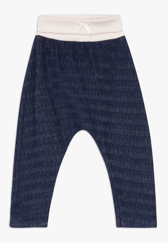 PANTS BABY  - Trousers - deepblue