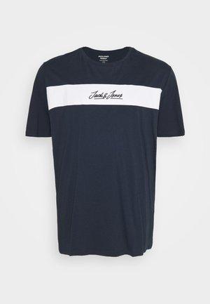 JORNEWCOARSE TEE CREW NECK - T-shirts print - navy blazer