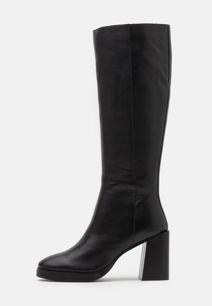 KINGDOM - High heeled boots - black
