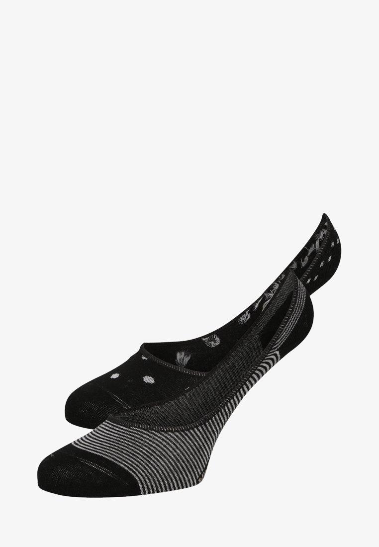 Marc O'Polo - 2 PACK - Trainer socks - black