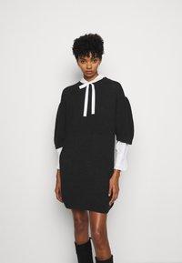 See by Chloé - Pletené šaty - obsidian black - 0