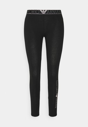 LEGGINGS - Pyjama bottoms - nero black