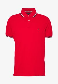 Tommy Hilfiger - TIPPED SLIM FIT - Polo shirt - red - 3