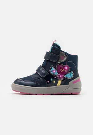 SLEIGH GIRL ABX - Winter boots - navy/fuchsia