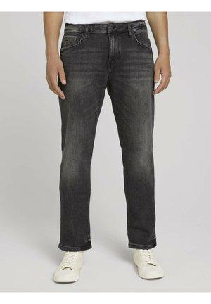 Jeans straight leg - grey denim