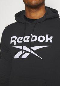 Reebok - HOODIE - Hoodie - black - 5