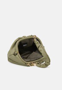 Pieces - PCPIPPA CROSS BODY - Handbag - ecru olive/gold-coloured - 2