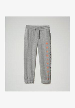 Pantalones deportivos - medium grey melange