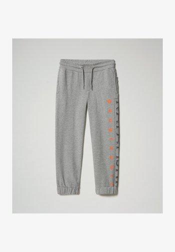 Tracksuit bottoms - medium grey melange