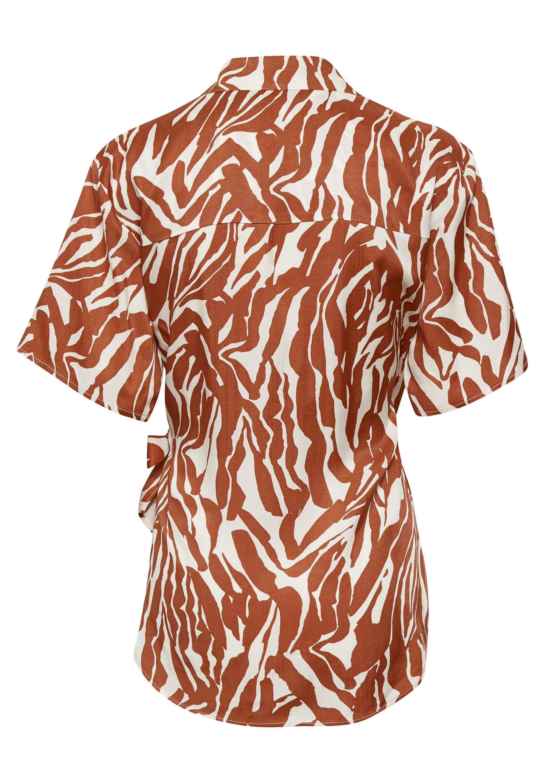 Soaked in Luxury SLNIKAIA - Blouse - zebra strokes red - Dameskleding Oprecht