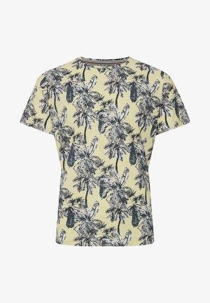 Print T-shirt - pale banana