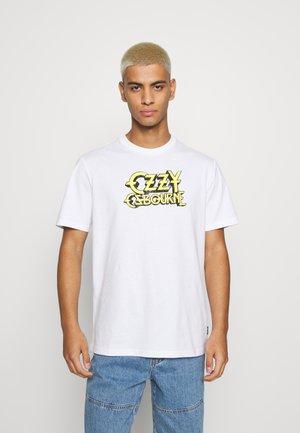 ONSOZZY LIFE REGULAR TEE - T-shirt z nadrukiem - white