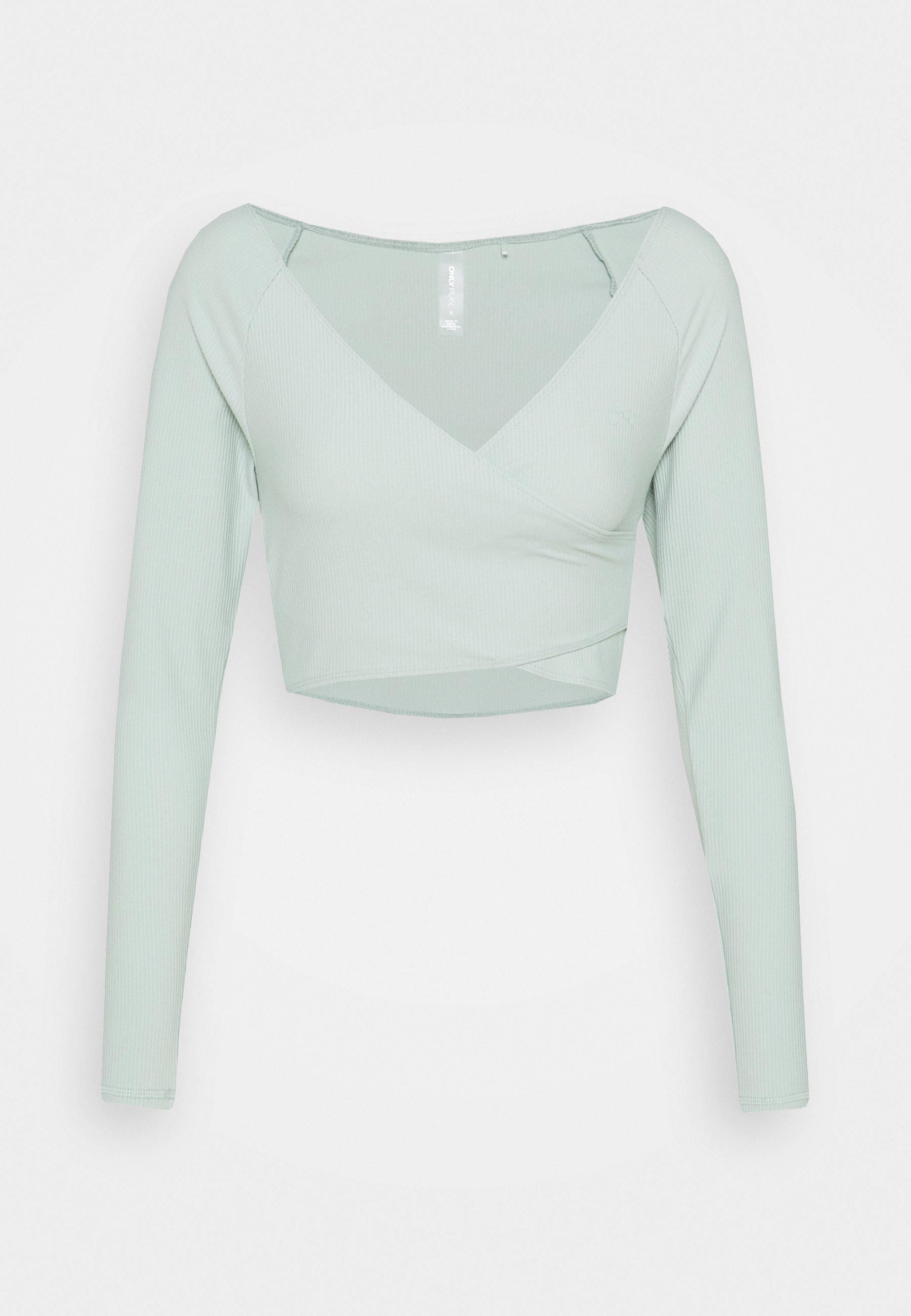 Women ONPJANA TRAIN CROP - Long sleeved top