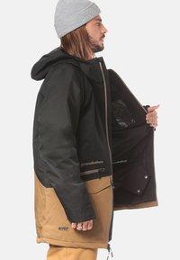 Horsefeathers - NIGHTHAWK - Snowboardjas - black/light brown - 4