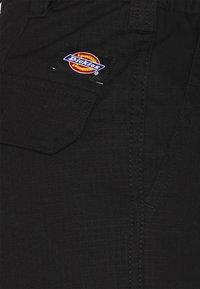 Dickies - COMBA ELASTICATED - Cargo trousers - black - 5