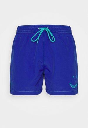 MEN FACE - Szorty kąpielowe - royal blue