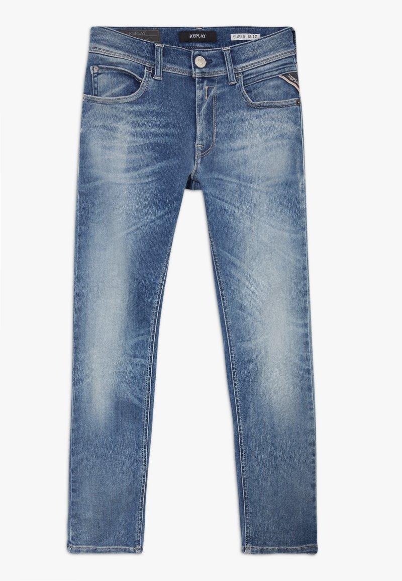 Replay - HYPERFLEX STRECH  - Jeans Skinny Fit - light blue denim