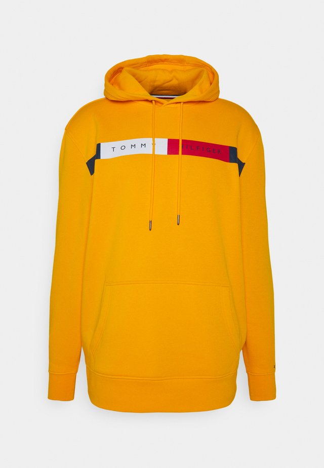 LOGO HOODY - Sweat à capuche - yellow