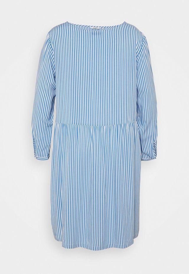 DRESS BLOUSE STYLE - Hverdagskjoler - marina/white